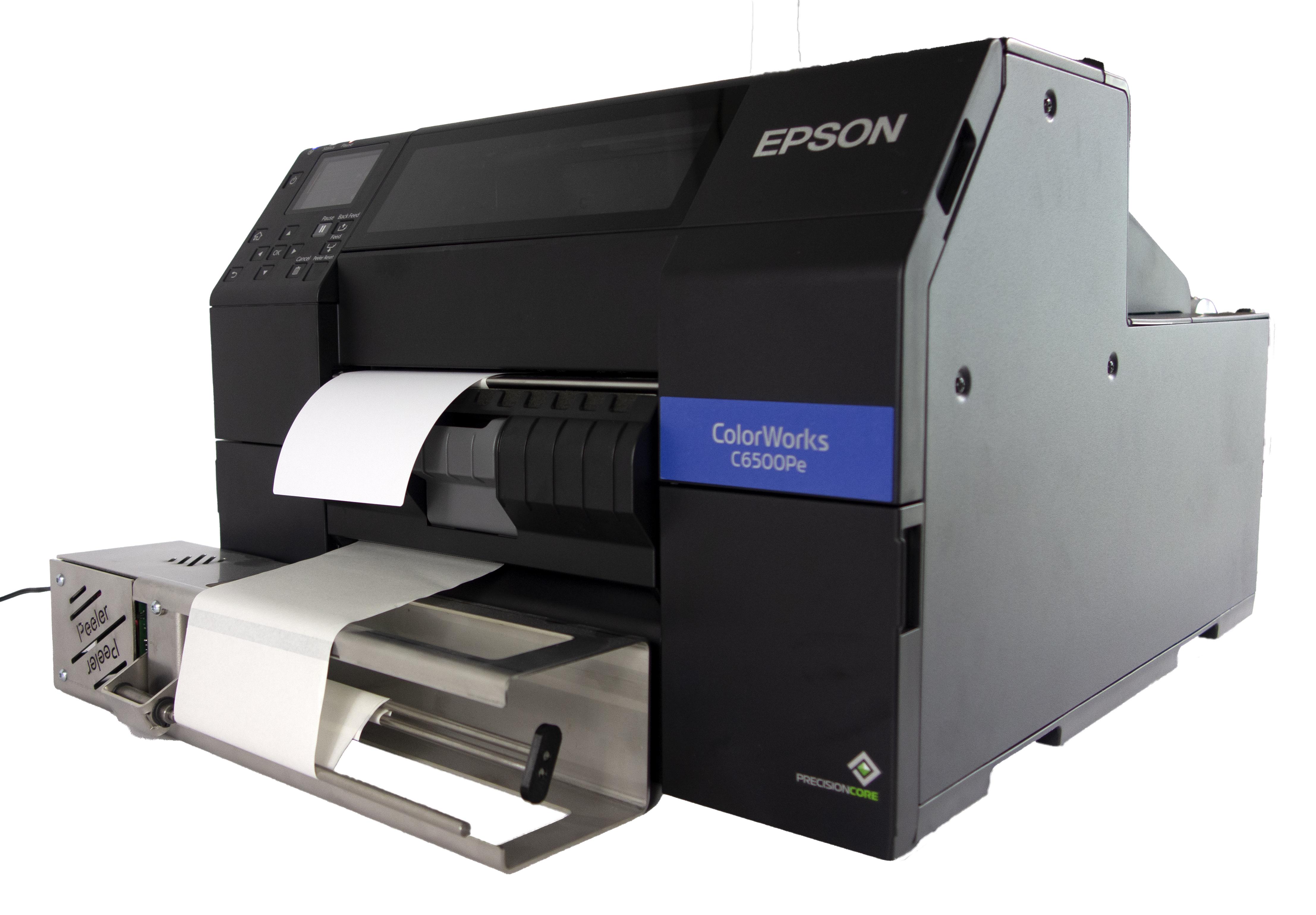 Abzieh-Aufwickler für die Epson C6500-Serie